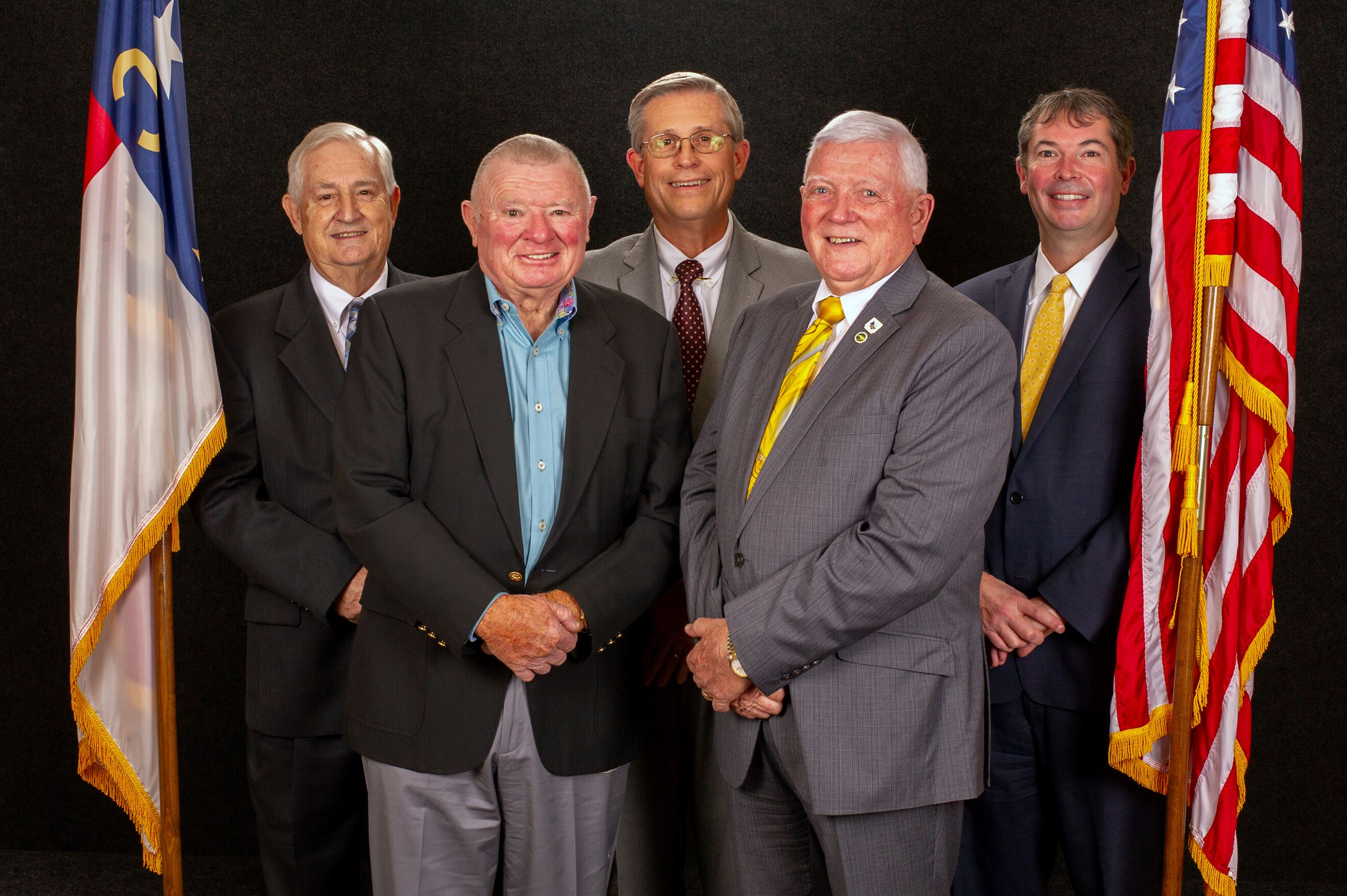 Five Men Who Serve as the Commissioners