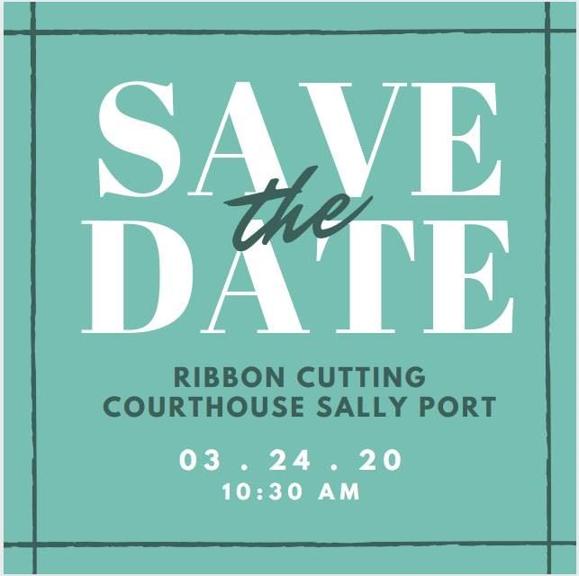 Sally Port Ribbon Cutting Invite
